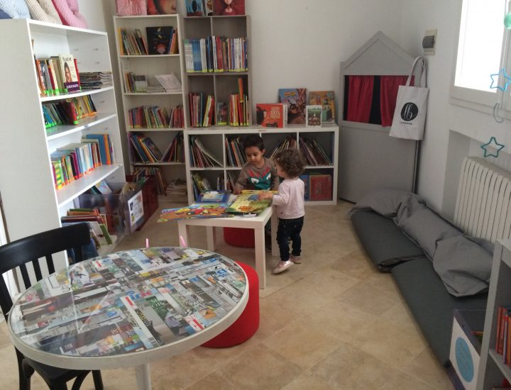 Le Boudoir, une bibliothèque Kids Friendly
