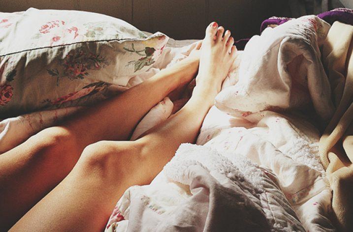 J'ai essayé de dormir nue