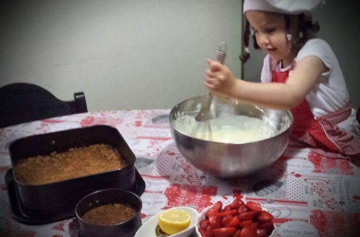 Cheese cake par la petite chef «Lamis»
