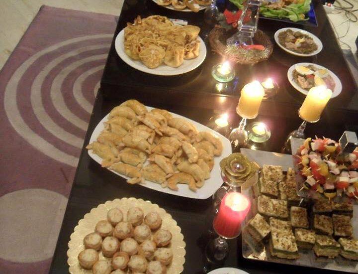 Menu de fêtes: Riz aux fruits secs et …