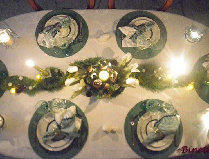 Dresser une table de Noël à moindre frais