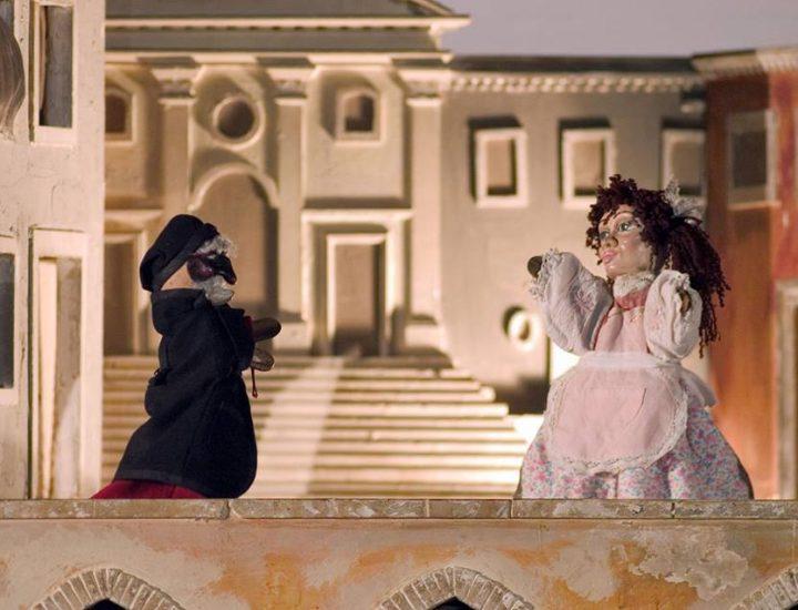 Spectacle de marionettes pour enfants «Arlequin et la sorcière Rosega Ramarri»