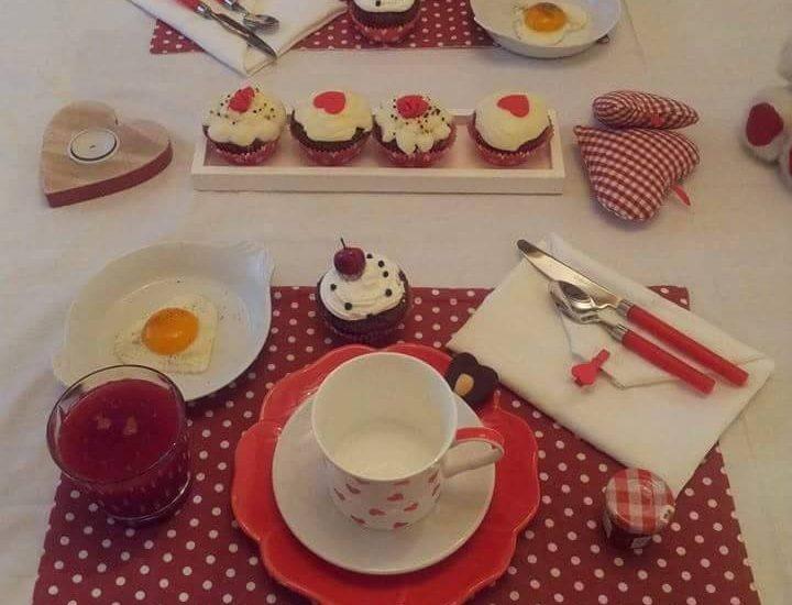 Un petit déjeuner en amoureux