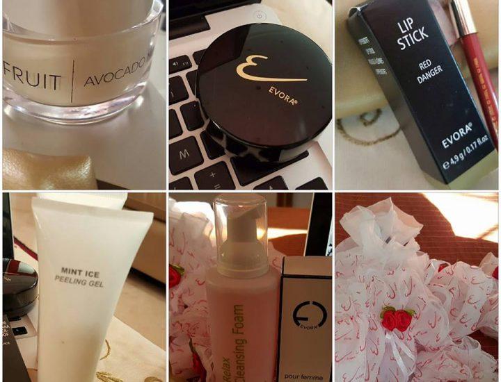 La gamme make-up Evora