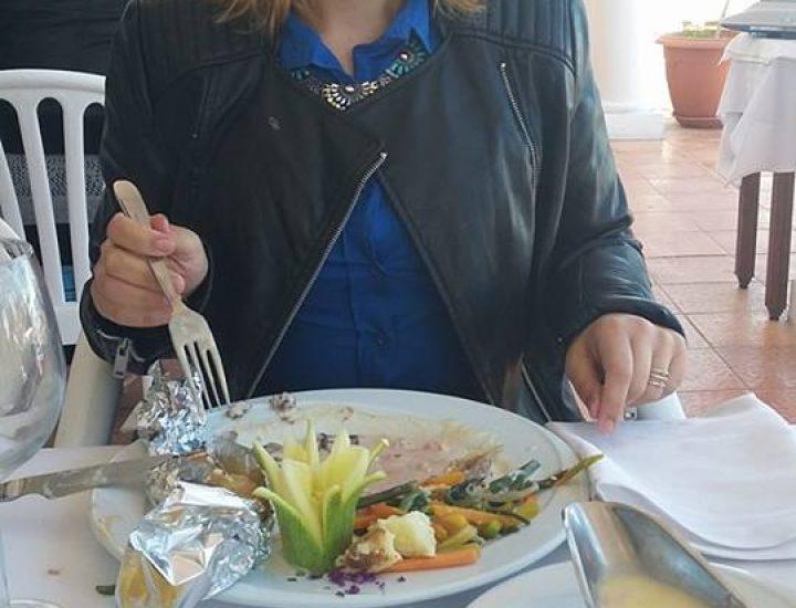 Mon déjeuner en amoureux à Hammamet