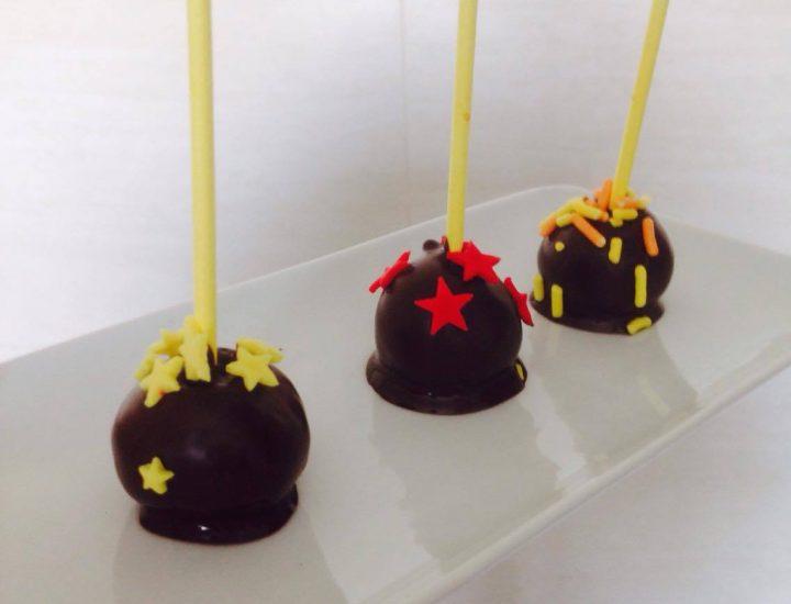 Les fameux Cake Pops!