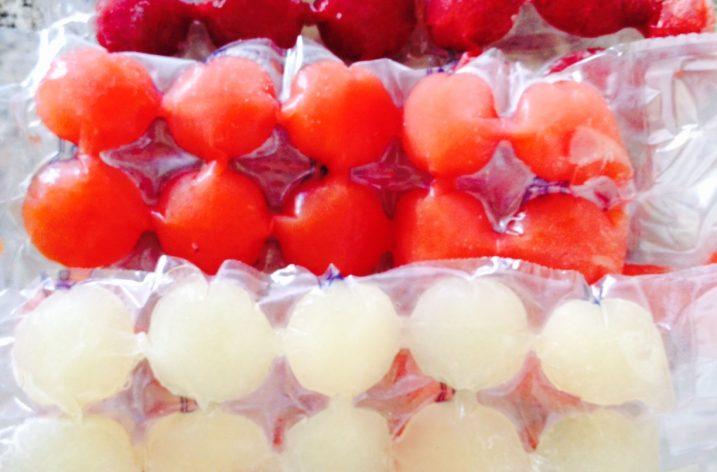 Super astuce de cuisine: les glaçons de fruits