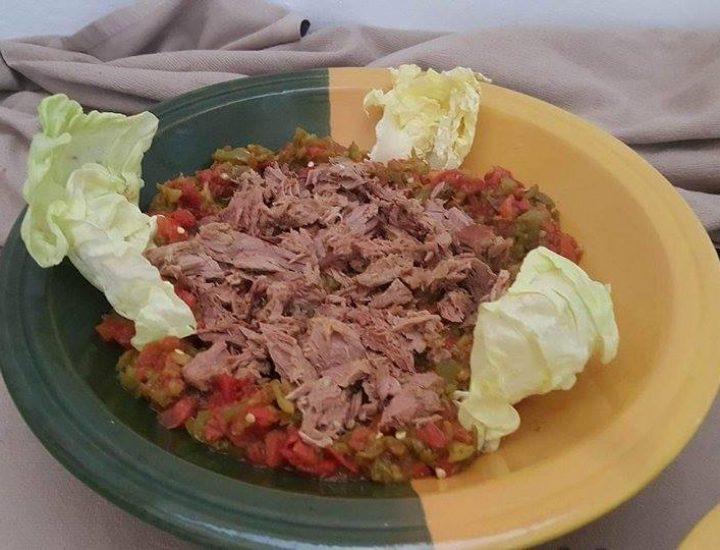 La fameuse salade mechouia (recette)