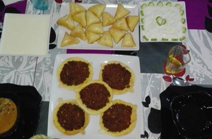 Dbaret elyoum : un menu libanais!