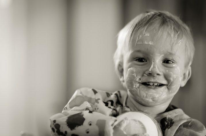 Il a mangé 2 yaourts, Wilyééé!!!