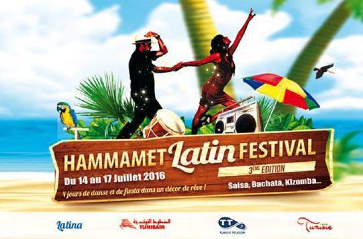 Hammamet accueille le Latin Festival du 14 au 17 juillet