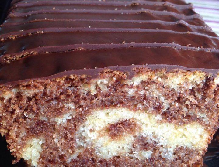 La recette la plus facile du cake marbré