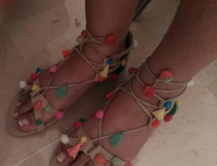 Faites de jolis sandales toutes seules
