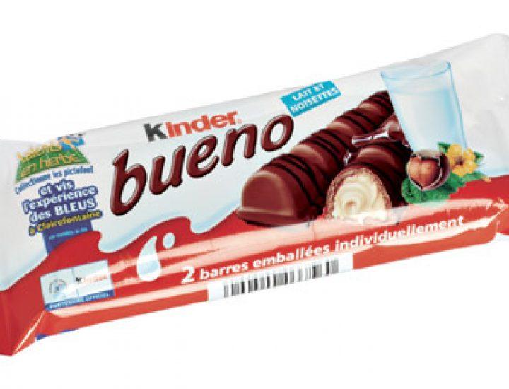 Les barres chocolatées Kinder pourraient être cancérigènes
