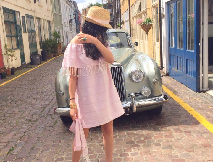 DIY, comment faire une robe en tissu de Fouta