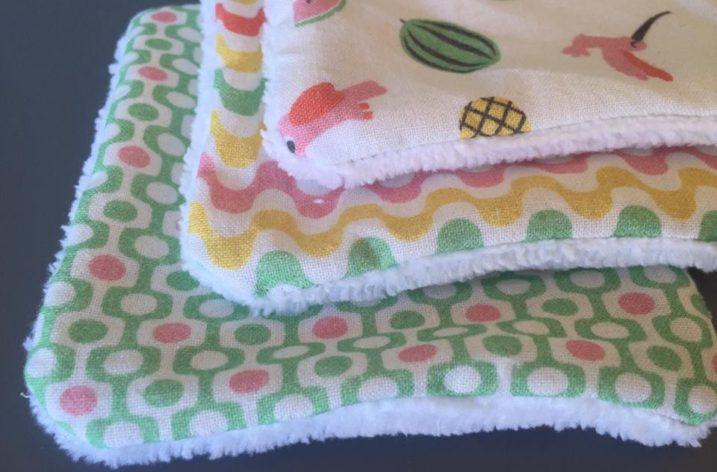 DIY: Des serviettes pour la cantine
