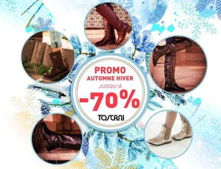 Jusqu'à70% de remises chez Toscani
