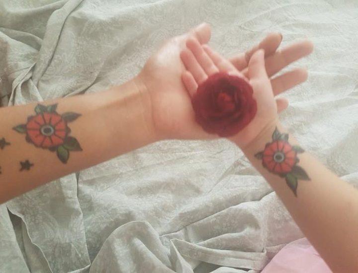 Les tatoos mauviette chez Feryel Studio