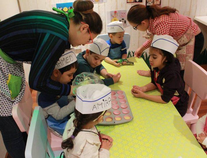 Ateliers de cuisine pour les petits