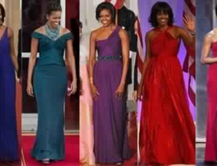 Les plus belles robes de Michelle Obama