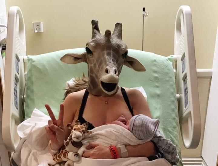 Sa vidéo d'avant accouchement fait des millions de vues