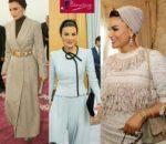 Le look de Sheikha Mozah à Tunis