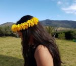 DIY: une couronne de fleurs