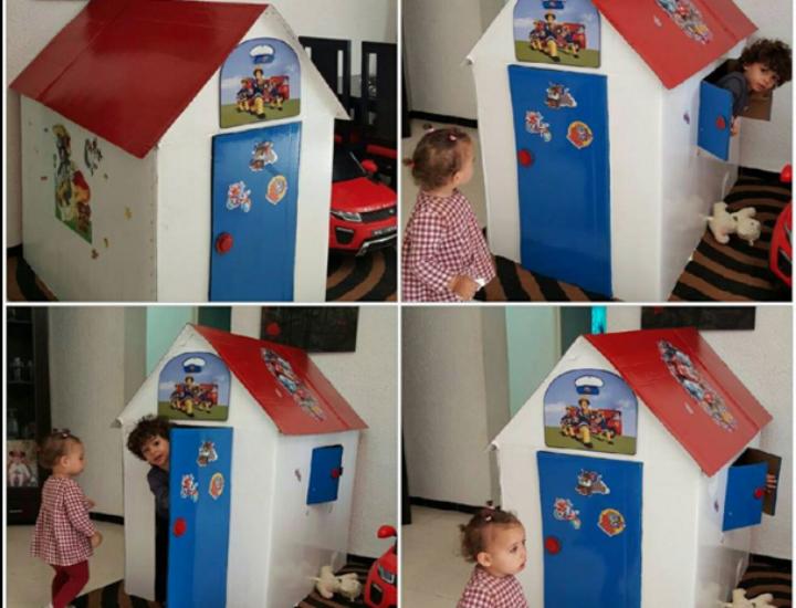 DIY: maisonette en carton