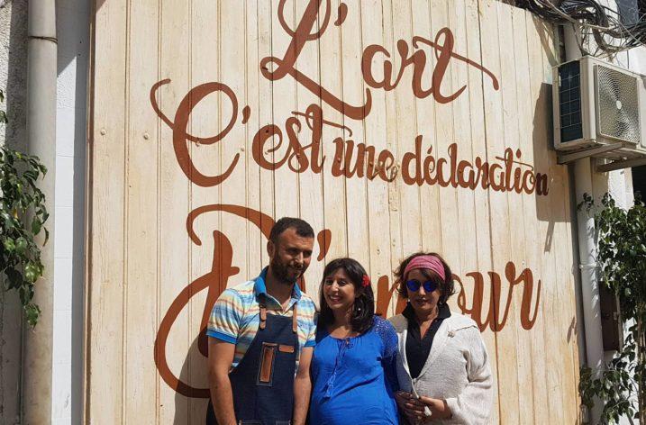 Lotfi Abdelli, le barista de Little Sarrajine Coffee