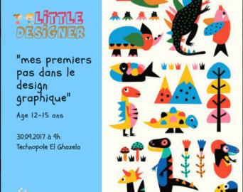 Ateliers design graphique gratuit pour les enfants