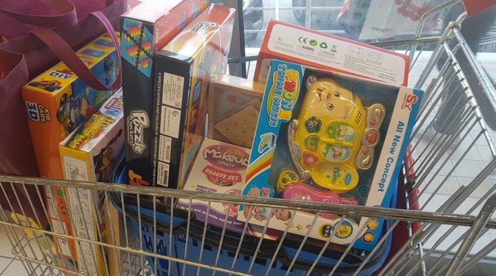 50% sur les jouets à MG