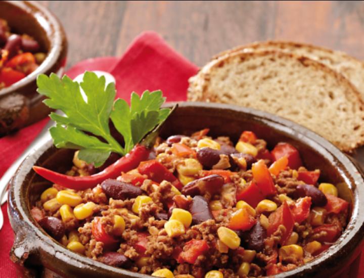 Chili con carne, recette pour l'hiver