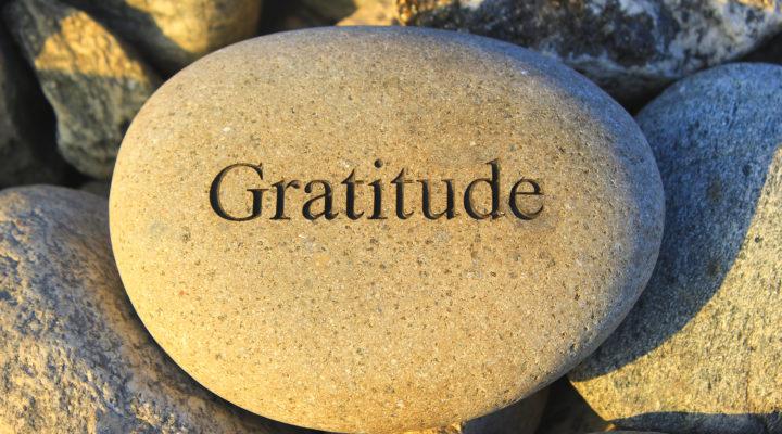 Etre reconnaissant, la recette du bonheur?