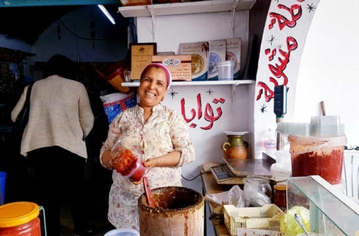 La salade méchouia 'Diari' de Chahida